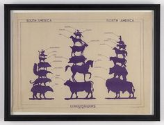 """Conquistadors, 1492-1992"" (1992), Mark DION. Blueprint | Arte Conceptual"