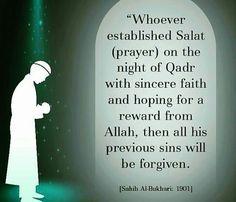Laylatul Qadr. Saw Quotes, Life Quotes, Ramadan Tips, Salat Prayer, Ramadan Mubarak, Islam Religion, Alhamdulillah, Islamic Quotes, Forgiveness