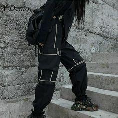 Best Cargo Pants, High Fashion, Fashion Beauty, Alternative Fashion, Alternative Style, Streetwear Fashion, Joggers, Hip Hop, Street Wear