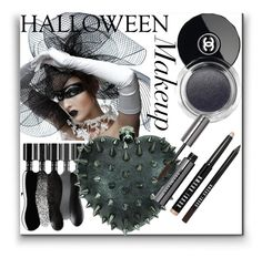 """""""Halloween make up"""" by simona-altobelli ❤ liked on Polyvore featuring beauty, Maybelline, Chanel, Bobbi Brown Cosmetics, polyvoreeditorial, polyvorecontest and halloweenmakeup"""