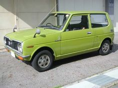 Japanese Cars, Vintage Japanese, Daihatsu, Vintage Cars, Automobile, Mini, Vehicles, Car, Motor Car