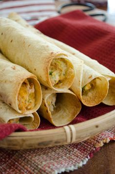 Crisp Chicken Burrito