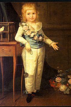 Élisabeth Vigée Le Brun - Louis Charles de France