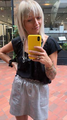 2020, covid hair, Yorkville, miniskirt,