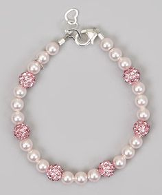 Look what I found on #zulily! Crystal Dream Pink Pavé Bracelet with Swarovski® Crystals by Crystal Dream #zulilyfinds Long Pearl Necklaces, Single Pearl Necklace, Handmade Bracelets, Jewelry Bracelets, Beaded Jewelry, Swarovski Bracelet, Pearl Bracelet, Swarovski Crystals, Making Bracelets With Beads