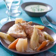 Découvrez la recette du pot-au-feu de poulet