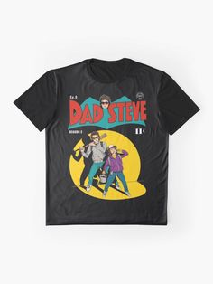'Stranger Things Dad Steve' Graphic T-Shirt by thelasttype Stranger Things Shirt, Stranger Things Steve, Stranger Things Aesthetic, 90s Shirts, Fall Shirts, Cute Shirts, Fasion, Cool Outfits, How To Look Better