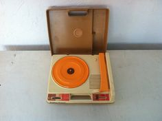 1978 Fisher Price Toys Record Player by lullabybird on Etsy Fisher Price Toys, Vintage Fisher Price, Record Player, Retro Look, Vintage Toys, Wraps, Thankful, Child, Awesome