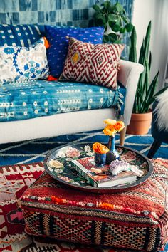 This post is created in partnership with Etsy When it comes to decorating boho style, I know it can seem enigmatic. You walk into these spaces layered with textiles, brimming with plants, full of clashing colors–but somehow it all works together to create a space that actually feels relaxing and inspiring. How is that even possible? Well, …