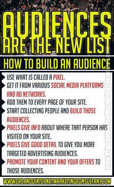 Here's what it means for your business You no doubt heard over the years that you should build your list and that usually refers to building an email list.