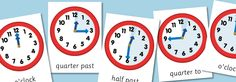 time posters A4 and A3 pdfs