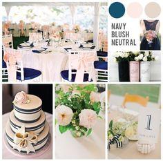 Perfect Palettes | Navy, Blush & Neutral - Meg Creative Design www.megcreativedesign.com/journal
