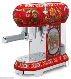 Another lap around the block: Dolce & Gabbana has collaborated with Smeg previously - just last year they released 100 hand-painted refrigerators that sold for $34,000 each