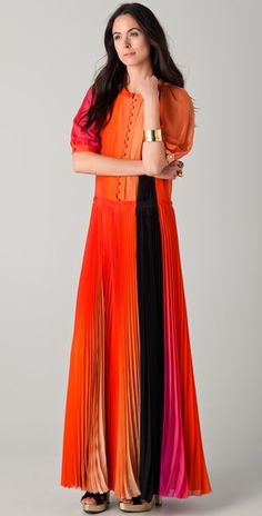How gorgeous is this Sonya Rykiel maxi dress. Sonia Rykiel 017da08e9