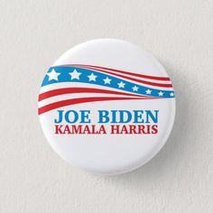 Joe Biden Kamala Harris For America Button #2020election #election #trump #bidenharris #vote2020 Joe Biden President, Popular Christmas Gifts, Kamala Harris, Custom Buttons, Sign Design, Bumper Stickers, Rainbow Colors, Keep It Cleaner, America
