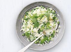 Salată de fasole, mazăre și paste Paste, Orzo, Spinach, Vegetables, Food, Essen, Vegetable Recipes, Meals, Yemek
