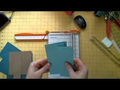 6X6 SIMPLE MINI ALBUM INSTRUCTIONS AND TIPS