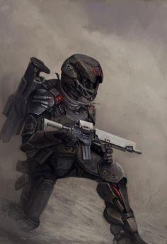 Dust soldier - Walküre RPG