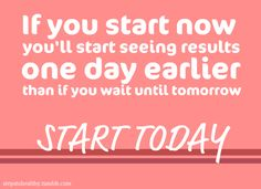 Found this on an inspirational blog with lots of exercises, daily tips and motivation.... #startnow