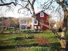 Siirtolapuutarhamökki Villa Veranda & puutarha