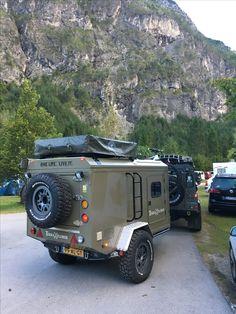 Camping Trailer Diy, Trailer Tent, Off Road Camper Trailer, Mini Caravan, Mini Camper, Expedition Trailer, Overland Trailer, Small Camper Trailers, Rv Trailers