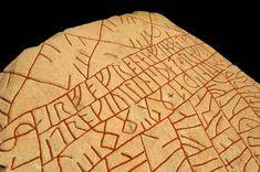 The ancient Viking runestone revealing a modern fear - BBC Reel - Britta Ancient Runes, Ancient Art, Anglo Saxon History, Japanese Novels, Harappan, Ancient Greek City, Rune Stones, Ancient Vikings, Ancient Civilizations