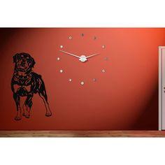Wall Vinyl Sticker Bedroom Decal Bulldog Dog Face Animal Glasses Z2399