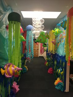 Office Halloween contest....Under The Sea!