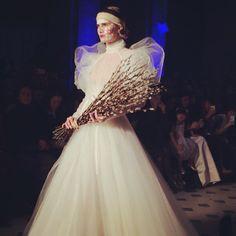 The Vivienne Westwood bride closes the show #PFW