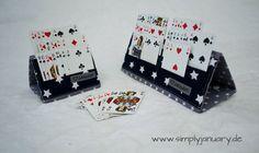 Kartenhalter Romme