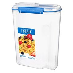 Sistema Fresh Container Large Cereal 4.2L Blue