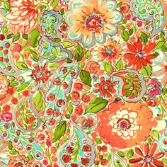California Dreaming Collection by Dena™ Home for P/K Lifestyles - Sweet Summer in Sherbert