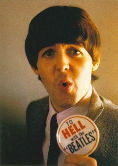 Hahahaha oh Paul. #tohellwiththebeatles #sorrynotsorry #noprobz