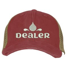 Distressed Trucker Hat - Dealer Backyard Play, Messy Hairstyles, Funny Tshirts, Baseball Hats, Products, Young Living, Doterra, Don't Care, Stitching