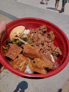 はじめて食べた魯肉飯