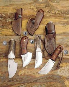 Muela Piranha, mouse and Gazapo knives Cool Knives, Knives And Swords, Beil, Neck Knife, Forged Knife, Bushcraft Knives, Best Pocket Knife, Knife Sheath, Handmade Knives
