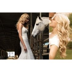Gorgeous Wedding Hairstyles for Long Hair Brides found on Polyvore