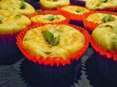 Cupcake Salgado Uma dica deliciosa para aquele lanchinho do final do dia!