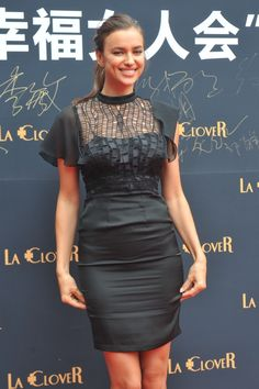 IRINA SHAYK – ATTENDING A PROMOTIONAL EVENT FOR THE LINGERIE BRAND 'LA CLOVER' IN PEKING, CHINA