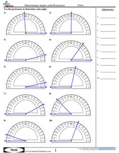 Angles Worksheets AND LOTS MORE