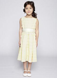 Scarlett Lemon Bridesmaid Dress