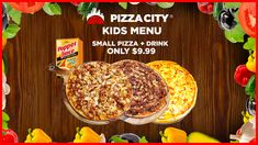 Craving for Pizza? Welcome to Pizza City, where great tasting Pizza awaits you everyday here at the heart of Sydney, Australia. Pizza City, Small Pizza, Kids Menu, Good Pizza, Cravings, Breakfast, Food, Morning Coffee, Essen