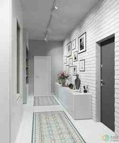 What design do you like more? Design Loft, Flur Design, Home Room Design, Design Case, Living Room Designs, House Design, Hallway Decorating, Entryway Decor, Interior Decorating