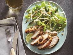 Thai Roasted Chicken Breasts with Simple Salad http://www.prevention.com/food/healthy-recipes/6-savory-weeknight-dinners/slide/4