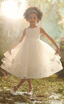 Royal Blossoms | Alfred Angelo Flower Girl Dresses | Disney's Fairy Tale Weddings & Honeymoons