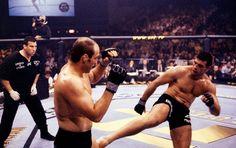 UFC Pedro Rizzo X Randy Couture 2001 (Foto: Agência Getty Images)