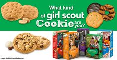 I got Lemonades™ in the 'What Kind of Girl Scout Cookie Are You?' Challenge #dailybreak #girlscoutcookie #challenge