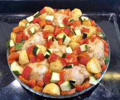 Kurczak w musztardzie pieczony z warzywami - Blog z apetytem Salsa, Mexican, Tasty, Ethnic Recipes, Kitchen, Food, Cooking, Kitchens, Essen