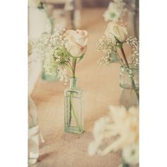 Stylish Rustic Peach Dove Grey Wedding ❤ liked on Polyvore featuring beauty products