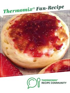 Recipe Eezy Peezy Crumpets (Scottish Style) by Leanne Sloss, learn to make this recipe easily in your kitchen machine and discover other Thermomix recipes in Basics. Scottish Recipes, Irish Recipes, Sweet Recipes, Easy Recipes, Thermomix Bread, Thermomix Desserts, Breakfast Dessert, Breakfast Recipes, Breakfast Ideas